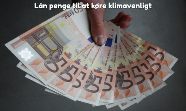 Lån penge til at køre klimavenligt